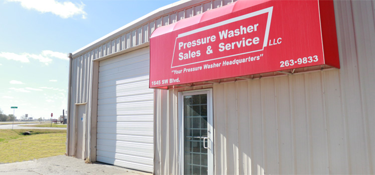 Pressure Washer Sales and Services Wichita Kansas Location