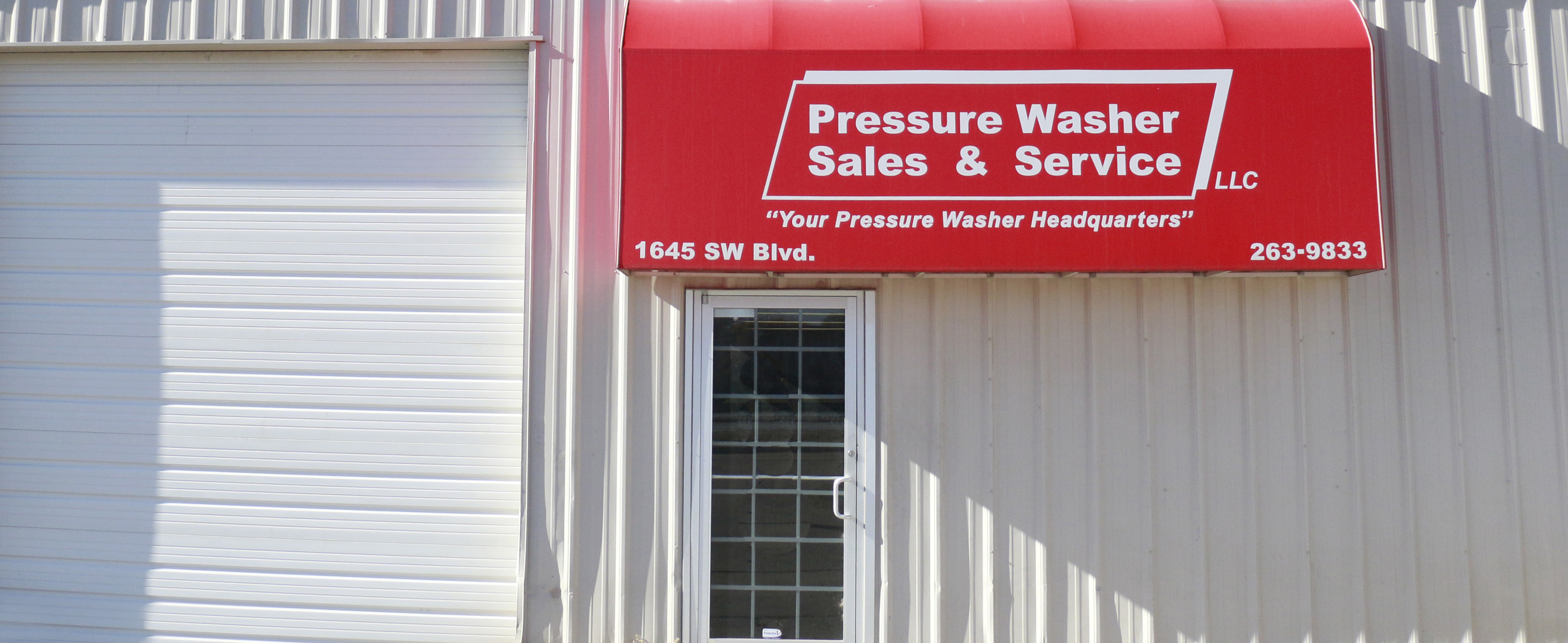 Wichita Kansas Pressure Washer Sales & Service
